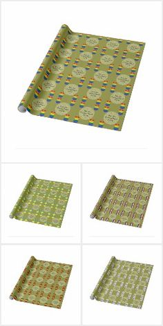 Angel Flags Gift Wrapping Paper