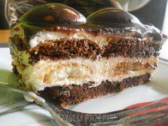 Idealne ciasto dla fanów słodkości. Sweets Cake, Food Cakes, Chocolate, Cake Cookies, Tiramisu, Ale, Cake Recipes, Food And Drink, Cooking
