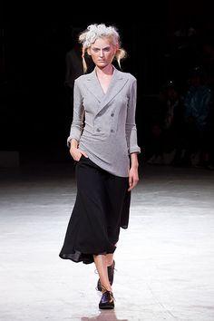Yohji Yamamoto Fashion Show Spring Summer 2014