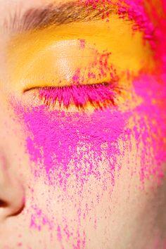 Koby Inc. beauty pink eye yellow
