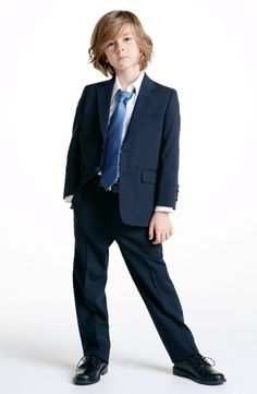 Find the perfect suit for your lil man #Dressy #josephabboud available at #Nordstrom