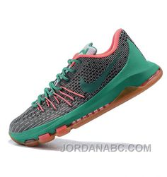 http://www.jordanabc.com/nike-kevin-durant-kd-viii-gray-green-basketball-shoes-free-shipping.html NIKE KEVIN DURANT KD VIII GRAY GREEN BASKETBALL SHOES FREE SHIPPING Only $109.00 , Free Shipping!