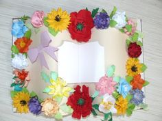 Handmade: Carte florala Day, Floral, Handmade, Hand Made, Flowers, Flower, Handarbeit