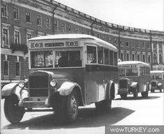 21 seat bus produced between 1934 and 1938 Japan Cars, Moscow Russia, Old Cars, Ankara, Military Vehicles, Luxury Cars, Vintage Photos, Chevy