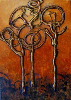 """CAROL NELSON FINE ART BLOG: """"TANGLED"""""""