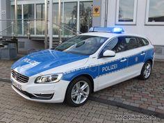 Polizeiautos.de - Volvo V60 Plug-In Hybrid