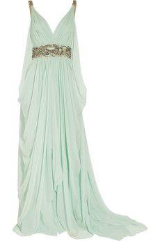Grecian goddess dress