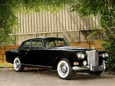 Bentley S3 Continental coupe by Mulliner Park Ward with lovely whitewalls