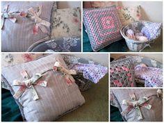Lavender and Rose stories: Jak uszyć poduszkę z kokardami?