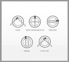 Food etiquette )  sc 1 st  Pinterest & proper way to set a table | Tasty Treats | Pinterest | Table ...