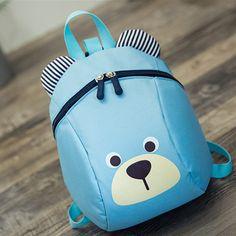 9f1eb9e81e4e Lovely Children School Bags Bear Shape Schoolbag Backpacks Kids  Kindergarten Bags Baby Boys Girls  Affiliate