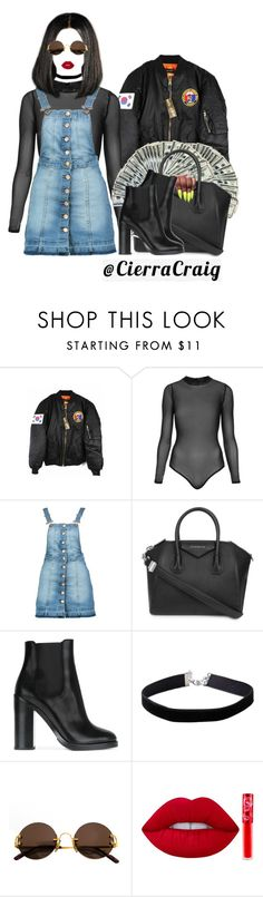 """""""12:22AM"""" by cierracraig ❤ liked on Polyvore featuring Topshop, Boohoo, Givenchy, Dolce&Gabbana, Miss Selfridge, Cartier and Lime Crime"""