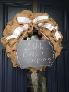 A personal favorite from my Etsy shop https://www.etsy.com/listing/234047008/chalkboard-sign-with-burlap-wreath