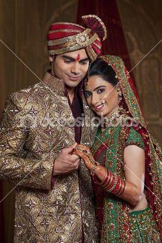 lindo casal indiano — Imagem Stock #47446951