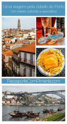 A cidade do Porto em Portugal é muito mais colorido do que só os azulejos azuis. Confira as cores dessa cidade, os sabores e os aromas.