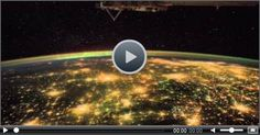 A Fascinating Video of ISS aka International Space Station Viewing Earth at Night #funny #funnyvideo