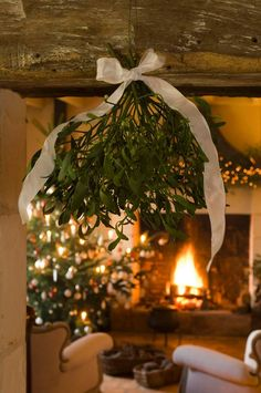 ♥ Mistletoe ... like we need an excuse to steal kisses.