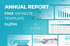 Free Annual Report Keynote Template Free Powerpoint Presentations, Powerpoint Template Free, Powerpoint Presentation Templates, Keynote Template, Photo Report, Data Charts, Report Template, Annual Reports, Google