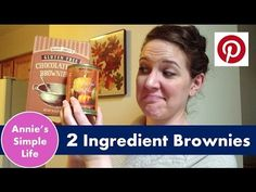 2 Ingredient Brownies | Pinterest Truth or Fail #12 - YouTube