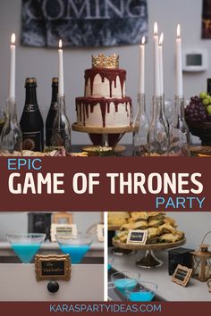 [Holidays and events]Game Of Thrones Party Food kids Game Of Thrones Kuchen, Game Of Thrones Food, Game Of Thrones Decor, Game Of Thrones Party, Game Of Thrones Birthday Cake, Great Gatsby Party, Adult Birthday Party, Birthday Games, Birthday Crafts