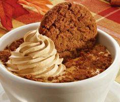 Cracker Barrel's yummy pumpkin & gingerbread
