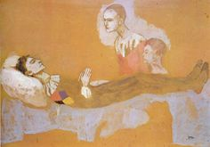 The Death Of Harlequin, Pablo PIcasso (1905)