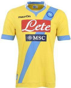 Napoli Third Jerseys 2013-2014 Macron