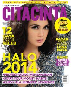 Luna Maya #cover #January