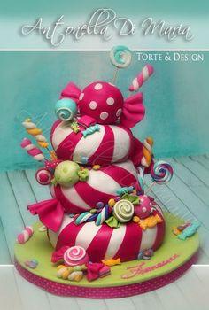 Candy cake - CakesDecor