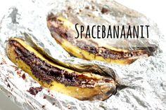 Karkkipäivä: Spacebanaanit (viljaton, luonnollisesti makeutettu, maidoton, munaton, pähkinätön)