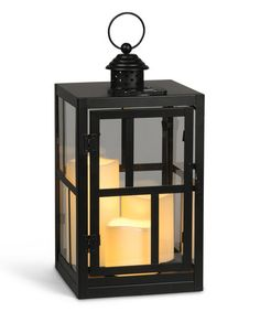 Another great find on #zulily! Mondrian Metal Solar Lantern by Everlasting Glow, $30 !!  #zulilyfinds