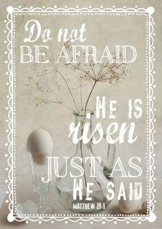 ''Ele não está aqui; ressuscitou, como tinha dito.'' Matheus 28:6 #Ressureicao #JesusCristo #Pascoa