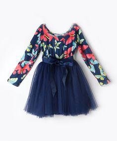 Look at this #zulilyfind! Purple Butterfly Tutu Dress - Toddler & Girls #zulilyfinds