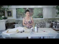 Arts & Crafts Tutorial: Wallpaper Art - YouTube