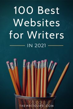 We've hand-picked 100 of the best websites in 2021 on writing, places where you'll find helpful support, inspiration and advice. These sites cover topics like freelance writing, blogging, travel writing, craft & creative writing, editing, publishing, writing tools, writing communities, podcasts for writers, plus marketing & platform building for authors. Check out the list and grab your free Pitch Checklist at thewritelife.com Fiction Writing, Writing Advice, Article Writing, Writing Resources, Writing Ideas, Writing Skills, Creative Writing, The Art Of Storytelling, Freelance Writing Jobs