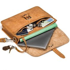 b27265947 The perfect full grain leather messenger bag briefcase for carrying to  work, traveling, etc