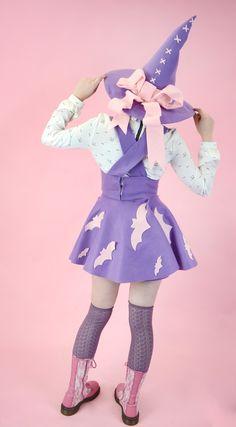 Video games, anime, DnD-related stuff, and cute things. Harajuku Fashion, Kawaii Fashion, Lolita Fashion, Pastel Fashion, Kawaii Halloween, Pink Halloween, Happy Halloween, Mardi Gras, Lolita Mode