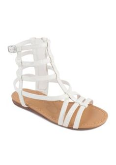ff29f6d0f90 Jessica Simpson Girls  Ronnie Sandal - Girls Toddler Youth Sizes - White -  13M Youth