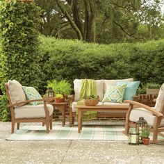 You'll love the 4-Piece Zara Patio Seating Group at Joss & Main - With Great Deals on all products and Free Shipping on most stuff, even the big stuff.