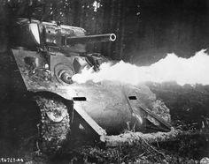 M 4 Sherman Flame thrower