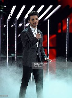 Singer Gianluca Ginoble of Il Volo performs onstage during the 16th Latin GRAMMY Awards at the MGM Grand Garden Arena on November 19, 2015 in Las Vegas, Nevada.