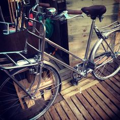 DELSIGN SPACEBIKE ONE   Chrome Bicycle
