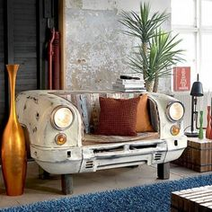 vintage car furniture