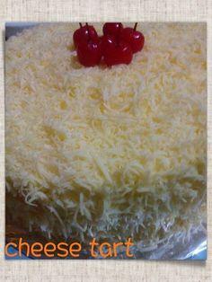 orange jam put within the tart ^^