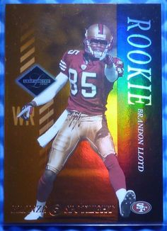 f58cdd2f1 2003 Leaf Limited FB BRANDON LLOYD Rookie Card RC Bronze Spotlight 117  150   SanFrancisco49ers