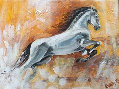Horse / acrylicpaint