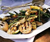 Balsamic-Grilled Summer Vegetables.  Throw these on the grill with your Kansas City Steak Company steak for a perfect Summer side! www.kansascitysteaks.com