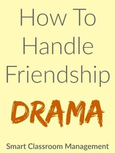 Friendship drama. The very words can make you shudder. Tears, jealousy, hurt feelings, histrionics, he said-she said . . . Although it's the last thing you ever want to deal with, you simply can't ignore it. Because it will dominate the lives of whoever is involved to the exclusion of everything else. It will throw …