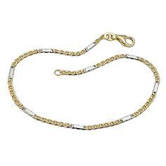 Armband, Stegpanzer, bicolor, 9Kt GOLD 19cm Dreambase http://www.amazon.de/dp/B00H2ILXMW/?m=A37R2BYHN7XPNV