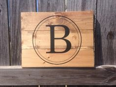 Custom Sign - Your Choice of Initials or Monogramm   Perfect Wedding Gift!